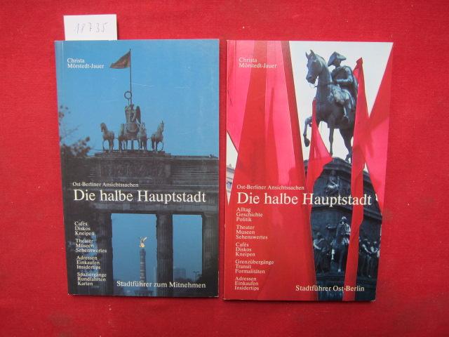 Die halbe Hauptstadt : Ost-Berliner Ansichtssachen. Band 1 und 2. EUR