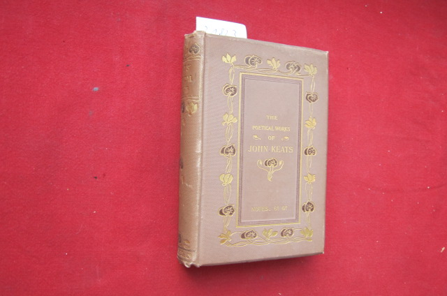 The poetical works of John Keats. With memoir, explanatory notes, etc. EUR
