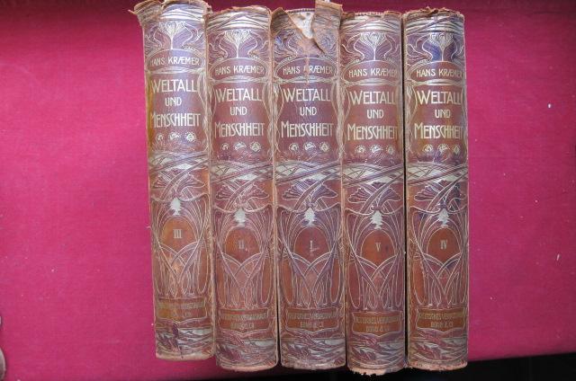 Weltall und Menschheit; 5 Bände. EUR