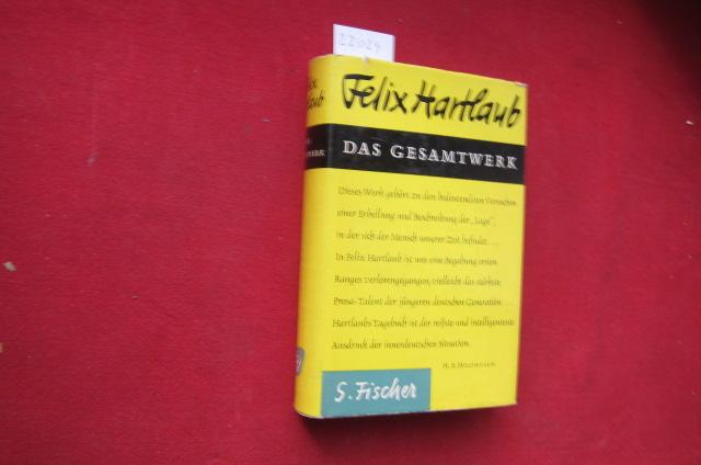 Das Gesamtwerk : Dichtungen Tagebücher. Auf Grund d. Originalhandschriften hrsg. von Geno Hartlaub. EUR