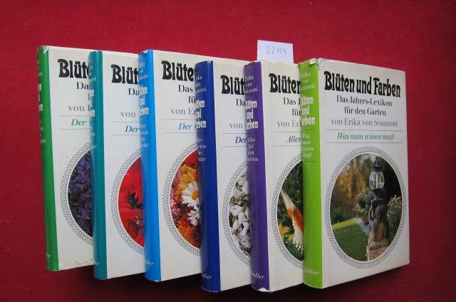 Blüten und Farben : Das Jahres-Lexikon f.d. Garten. [6 Bände - komplett] EUR