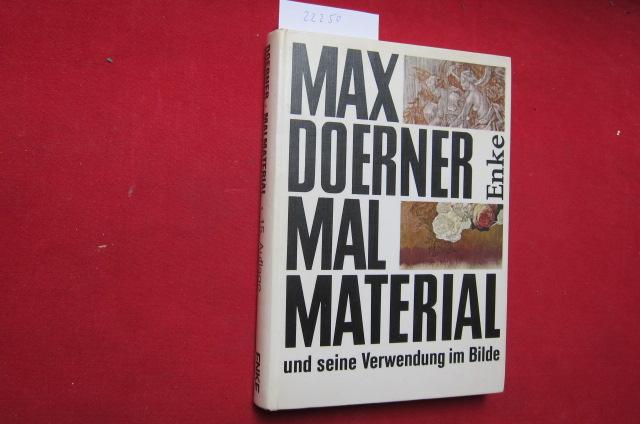 Malmaterial und seine Verwendung im Bilde. Neu bearb. von Hans Gert Müller. EUR