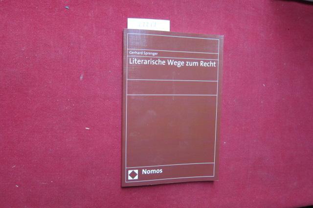 Literarische Wege zum Recht. EUR
