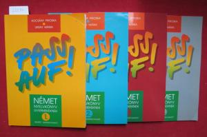 Pass auf ! Band 1 - 4. Német nyelvkönyv gyermekeknek. 1 - 4. EUR
