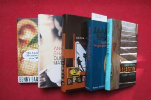 Konvolut aus 5 Bänden: 1) Der Mann, dem ein .../ 2) Dunkle Materie / 3) Bresnitz / 4) Vollendete Vergangenheit / 5) Falastin. EUR