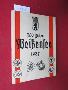 700 Jahre Weißensee 1935 : Ausgabe B. EUR