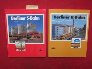 Konvolut aus 2 Bänden: 1) Berliner S-Bahn. / 2) Berliner U-Bahn. EUR