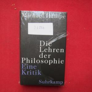 Die Lehren der Philosophie : eine Kritik. EUR