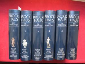 Brockhaus - die Bibliothek. Kunst und Kultur : 6 Bände (Komplett). Hrsg. von der Brockhaus-Redaktion. EUR