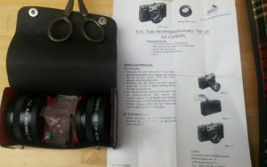 E621/ YIC Tele Weitwinkelvorsatz TW 35 Canon