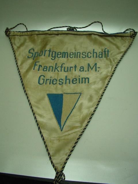 B573/ DDR Wimpel Sportgemeinschaft Frankfurt M