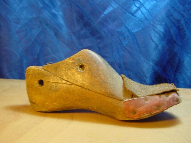 A561/ Holzmodel Schuhmodel, Leisten aus Holz