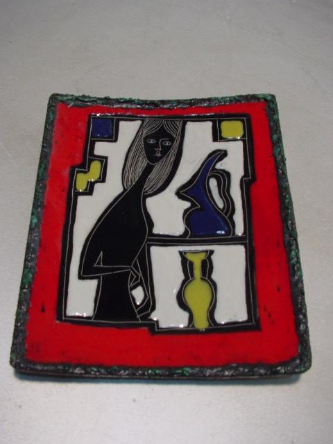 C423/ 60er Jahre Design Schale, Teller ITALYPinelli Menotto Da Giulio, Keramik