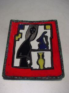 C423/ 60er Jahre Design Schale, Teller ITALYPinelli Menotto Da Giulio, Keramik 0