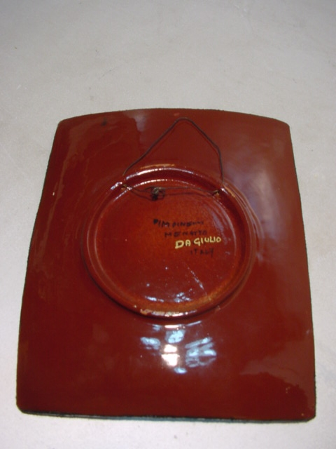 C423/ 60er Jahre Design Schale, Teller ITALYPinelli Menotto Da Giulio, Keramik 1