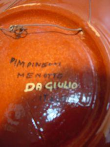 C423/ 60er Jahre Design Schale, Teller ITALYPinelli Menotto Da Giulio, Keramik 2