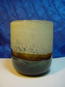 A510/ Glas oder Vase im modernes Design mit Abriss