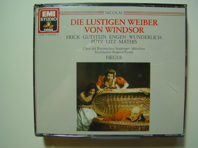 D284/ Nikolai: Die lustigen Weiber von Windsor, Gesamtaufnahme Heger