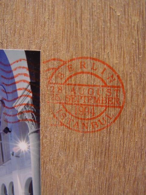 C278/ Kunstobjekt im Holzkasten, Raffael Rheinsberg, Istanbul - Berlin 6