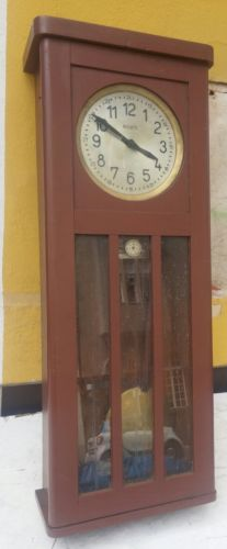 E836/ Antike  Fabrikuhr Magneta Schweiz Werksuhr Rarität