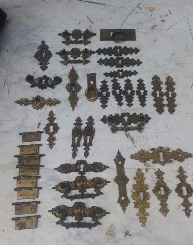E831/ Sammlung alte Möbelbeschläge