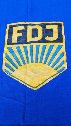E924/ FDJ Fahne Baumwolle 1