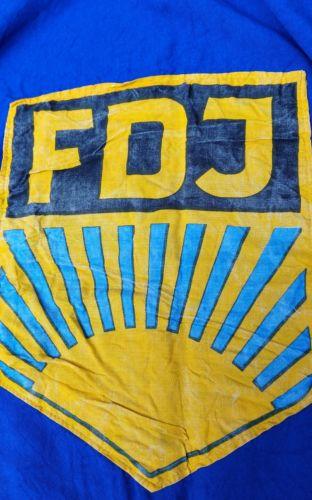 E924/ FDJ Fahne Baumwolle 4