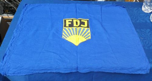 E922/ FDJ Fahne Baumwolle