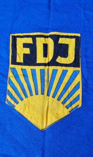 E922/ FDJ Fahne Baumwolle 1