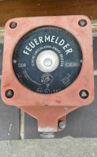 E935/DDR Feuermelder  Feueralam Feuerwehr 0