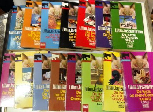 E937/ Lilian Jackson Braun: 15 Romane
