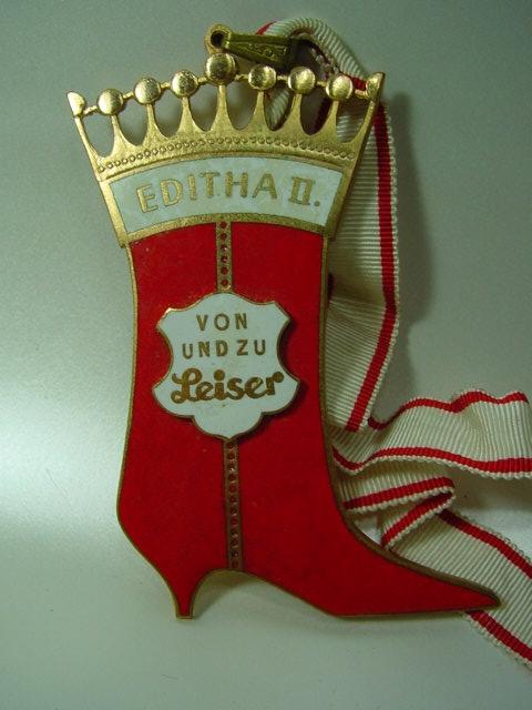 B625/ Orden Karneval Fasching Editha von und zu Leiser