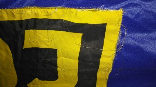 E 947/ DDR Fahne der FDJ  Freie Deutsche Jugend 3 m x 1.60 2