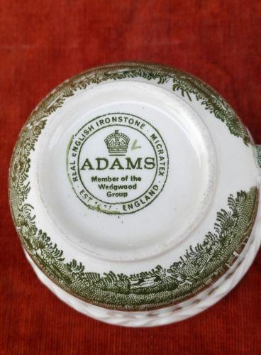 E943/ 6 Adams English Scenic Grün Tassen 2