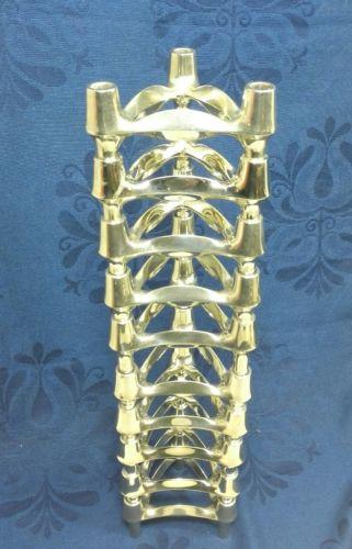 E993/ 10 Kerzenständer BMF Nagel Quist Kerzenleuchter Stecksystem 70er Jahre 3