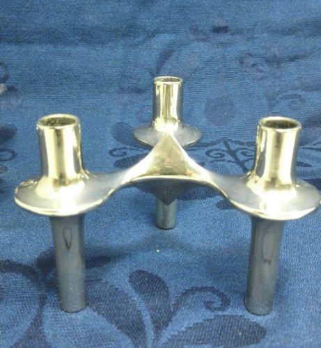 E992/ 3 Kerzenständer BMF Nagel Quist Kerzenleuchter Stecksystem 70er Jahre 2