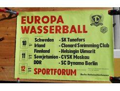 E52/ Poster Plakat Wasserball Sportforum Dynamo Berlin
