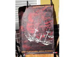E49/ Poster Plakat Komische Oper  der fliegende Holländer