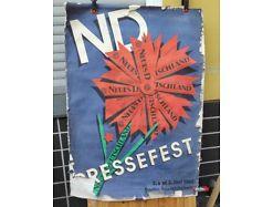 E46/ DDR Plakat 1962 Neues Deutschland Pressefest