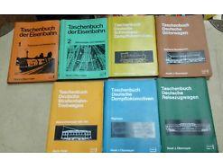 E57/ TASCHENBUCH der EISENBAHN 1 und 2 Horst J. Obermayer sowie 5 weitere