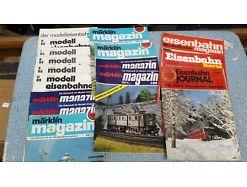 E57/ Eisenbahn Zeitungen Märklin Magazin Modelleisenbahner