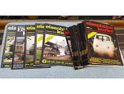 E56/ Eisenbahn Kurier Sammlung 1983 bis 1987 und Spezial