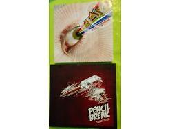 E64/ 2 Bücher Belio Pencil break und 032 neo psychedelia