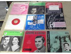 E81/ Giuseppe die Stefano / Callas Sammlung Vinyl Single