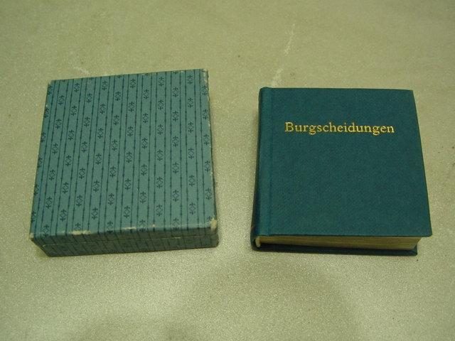 D33/ Minibuch Burgscheidungen Schloß u. Park an der Unstrut 87