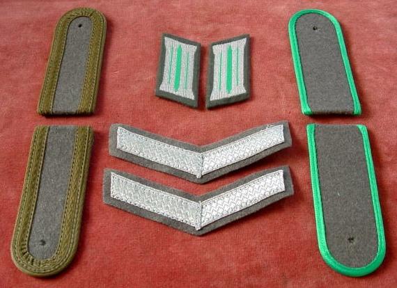 DDR/ Set: NVA/ Grenztruppeneffekte