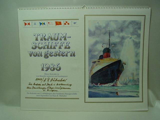 GB889/ Kalender R.Hübscher Traumschiffe