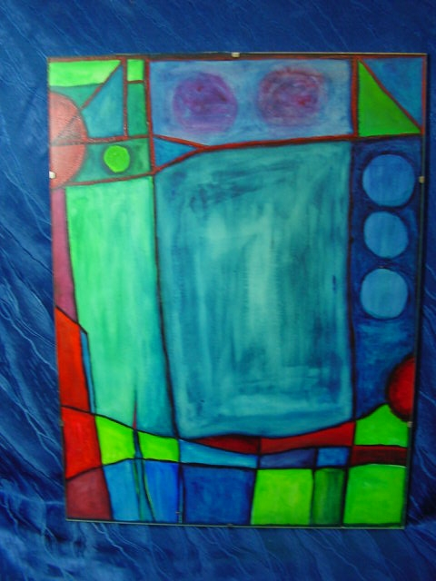 GB116/ Bild moderne Malerei