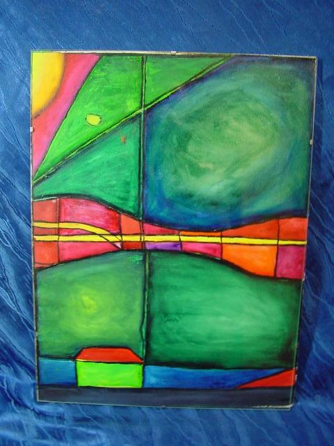 GB114/ Bild moderne Malerei