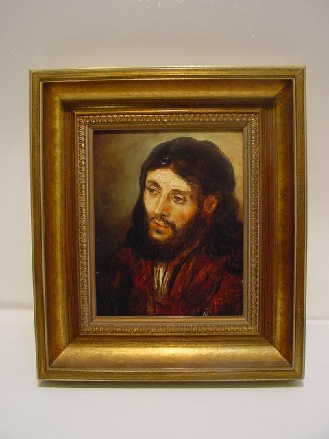 GB332 / Gerhard Treichel Christuskopf nach Rembrandt